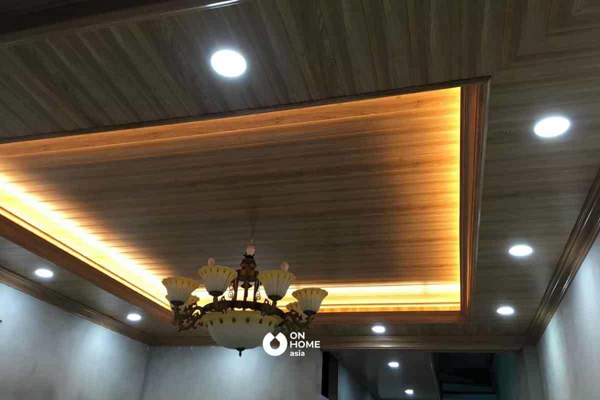 Trần tôn là một trong các loại trần nhà đẹp có giá thành phải chăng
