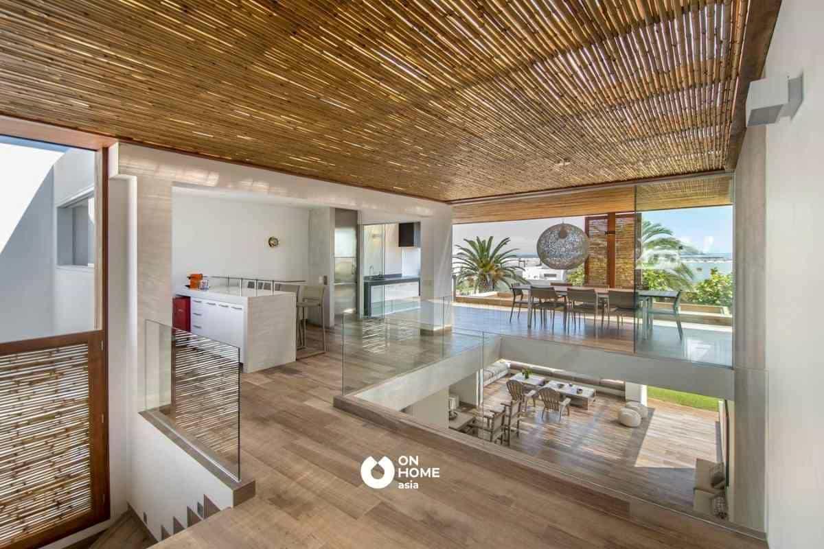 Vật liệu xanh ốp trần nhà đẹp