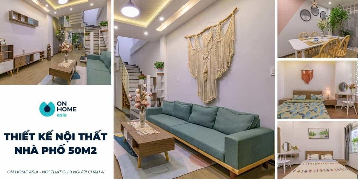 Thiết kế nội thất nhà phố 50m2 đẹp mà còn tiết kiệm chi phí