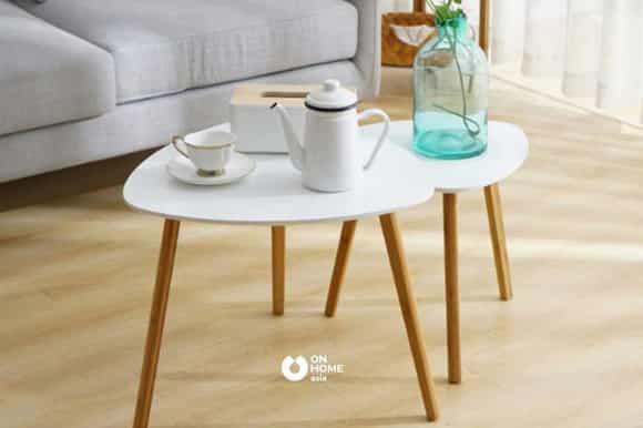 Bàn trà thông minh thiết kế đơn giản
