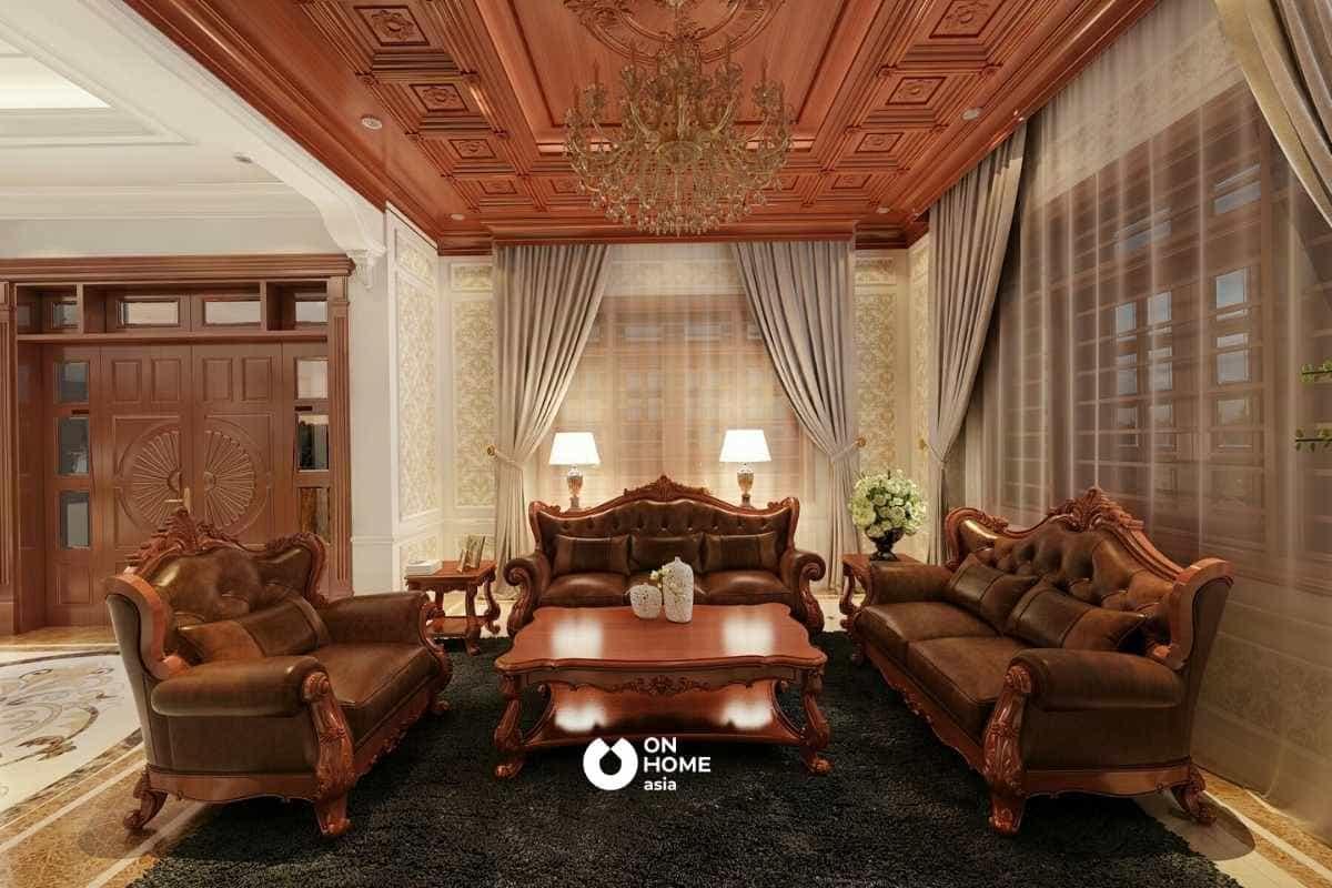 Gỗ Đinh Hương thường được chế tác thành các sản phẩm nội thất cao cấp