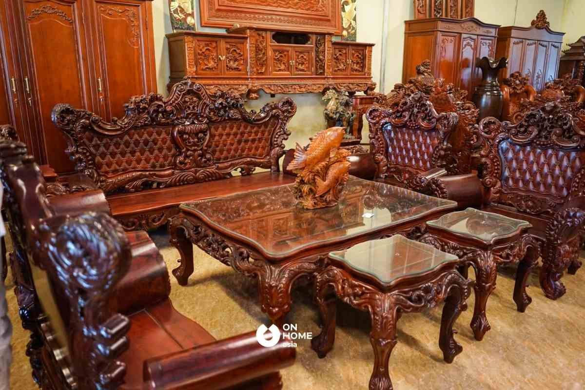 Gỗ Đinh Hương là dòng gỗ quý hiếm nên có giá thành vô cùng đắt đỏ