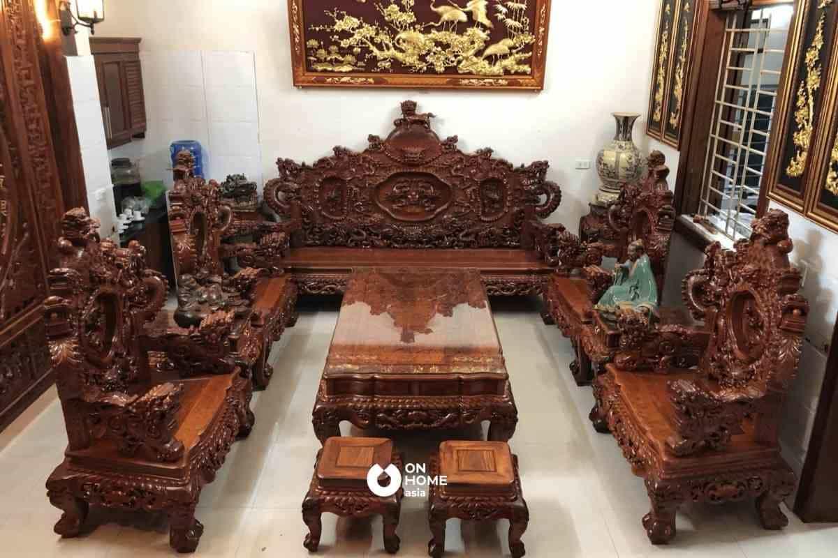 Gỗ Đinh Hương mang lại giá trị thẩm mỹ cho ngôi nhà của anh/chị