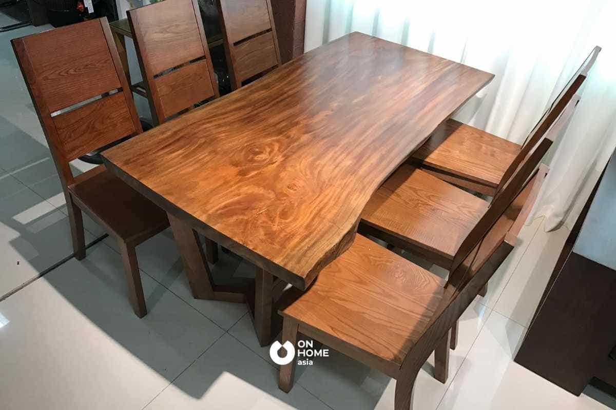 Đồ nội thất gỗ Xà Cừ đẹp mắt và sang trọng