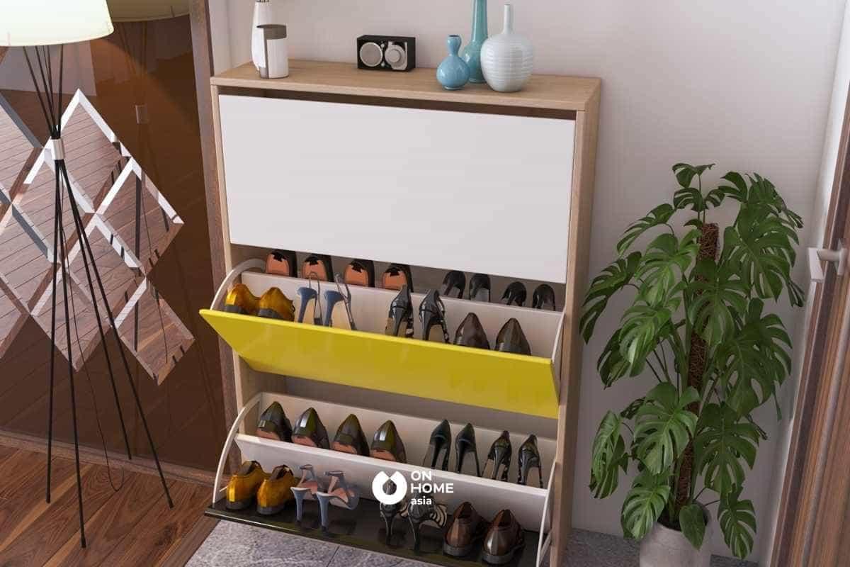 Tủ giày thông minh giúp ngôi nhà trở nên gọn gàng hơn