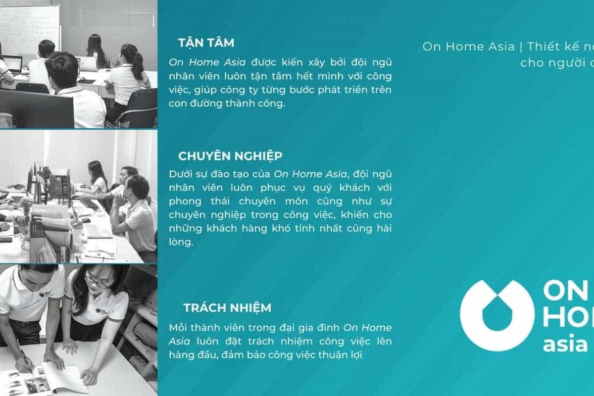 On Home Asia là công ty thiết kế nội thất nhà phố