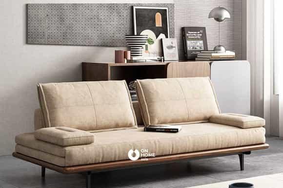 Ghế sofa giường bọc nỉ cao cấp