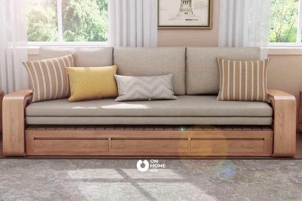 Lựa chon một mẫu sofa phù hợp với phong cách tổng thể không gian ngôi nhà