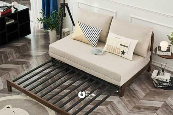 Sofa giường gỗ nệm cao cấp