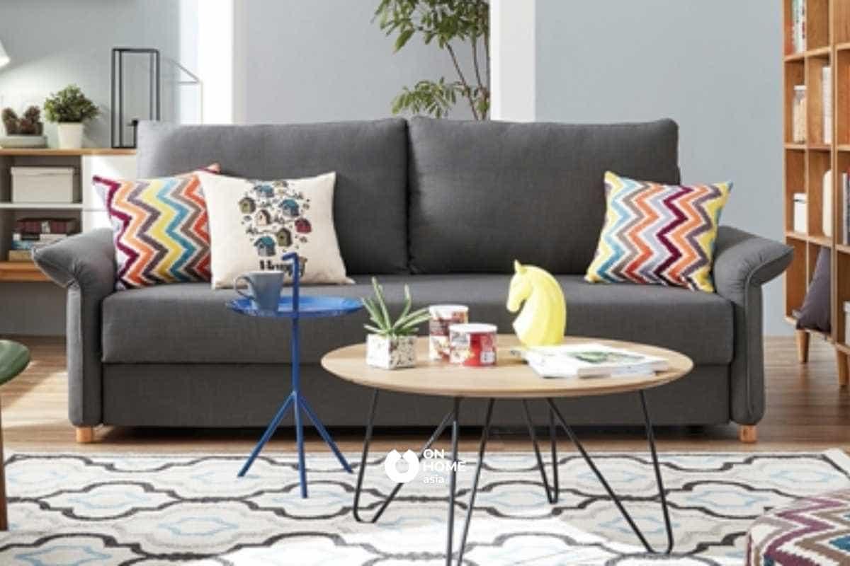 Sofa giường mang lại sự thoải mái trong quá trình sử dụng