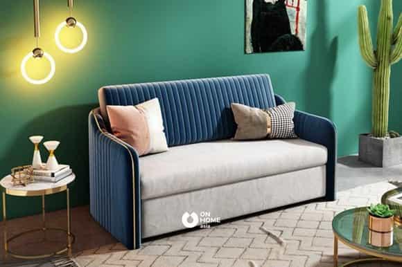 Sofa thông minh bọc nhung cao cấp