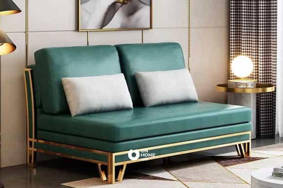 Sofa thông minh viền kim loại