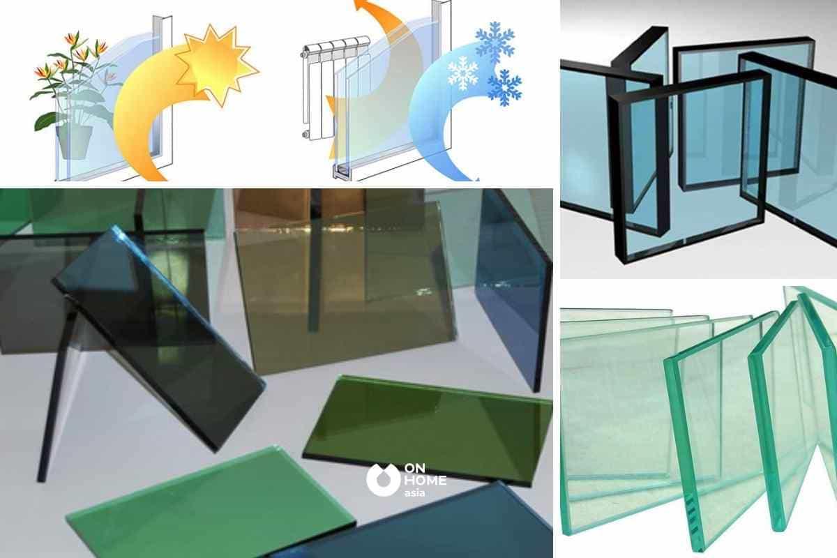 Vật liệu kính được phân loại thành nhiều dạng khác nhau