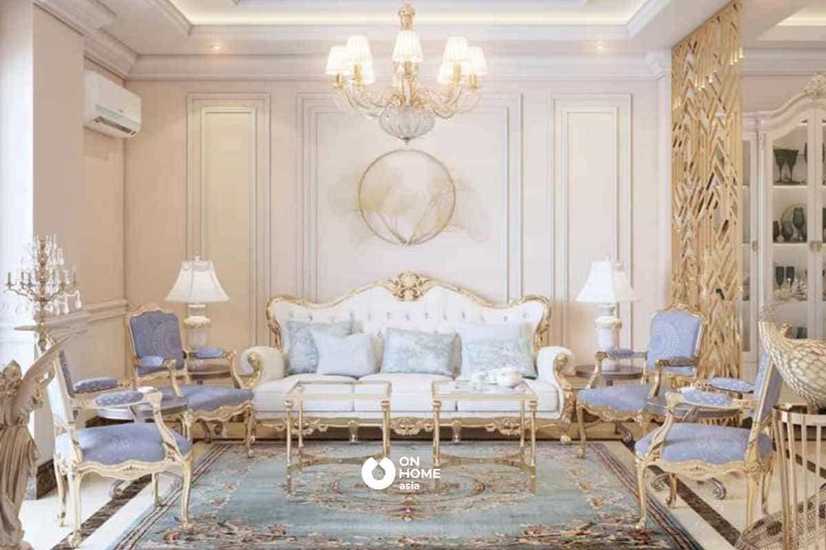 Đồng thau được ứng dụng rộng rãi trong thiết kế nội thất