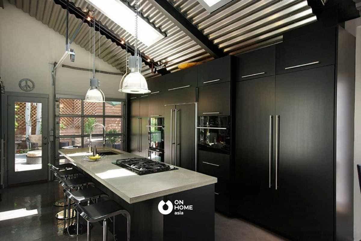 Vật liệu kim loại ngày càng phổ biến trong thiết kế nội thất