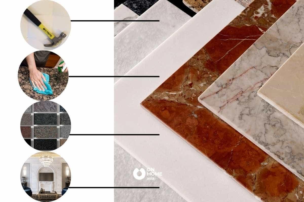 Vật liệu trang trí nhà ở bằng đá