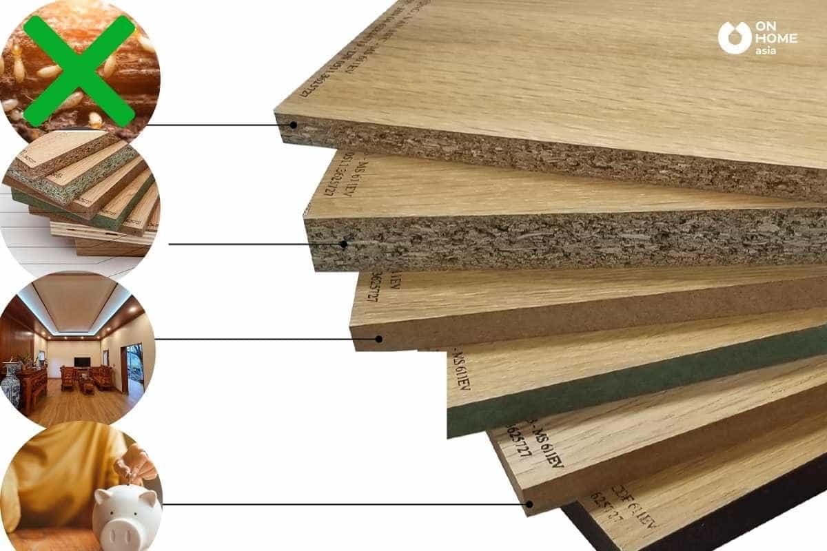 Gỗ công nghiệp là vật liệu nội thất đang dẫn đầu xu hướng