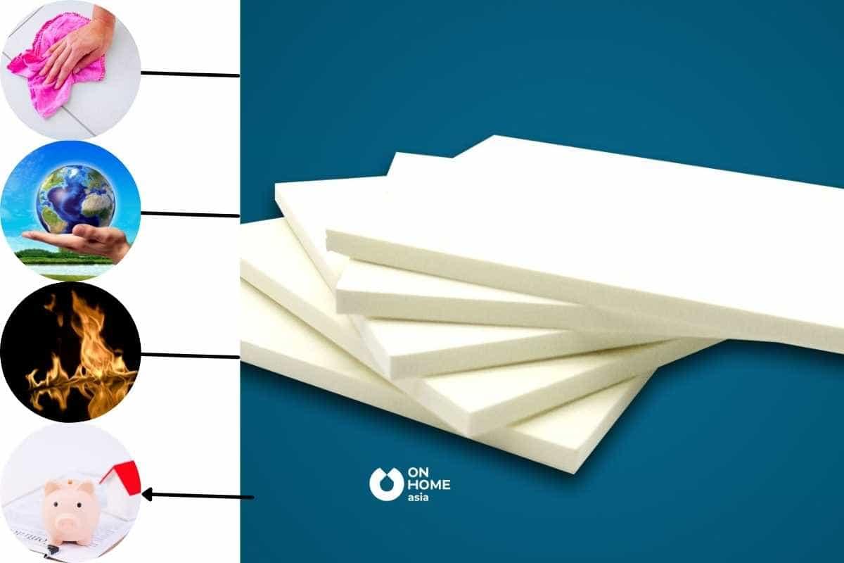 Vật liệu thiết kế nội thất bằng nhựa có nhiều ưu điểm vượt trội