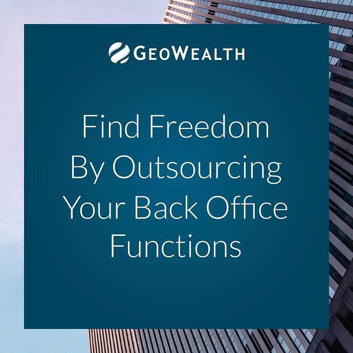 Find Freedom by Outsourcing Your Back Office Functions