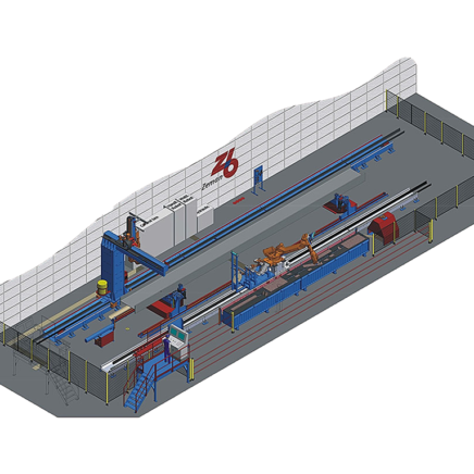 Steel Beam Assembly & Welding