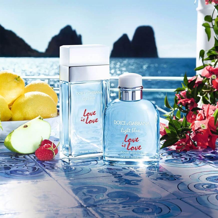 Dolce & Gabbana Light Blue Love is Love ¡Perfumes llenos de pasión irresistible!
