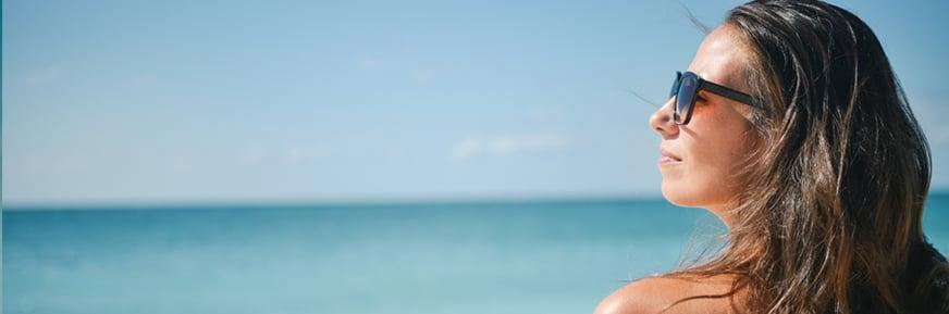 Maquillaje en la playa, ¿sí o no?