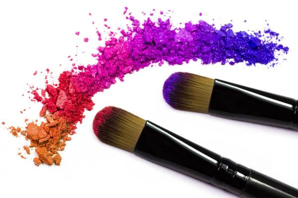 colores del maquillaje arcoiris