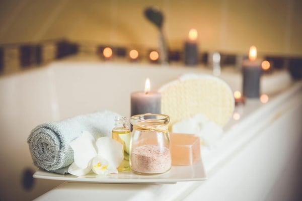 prepara un spa en casa