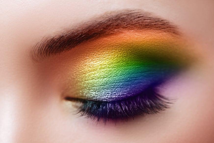 Maquillaje arcoíris: tutorial paso a paso con ideas originales