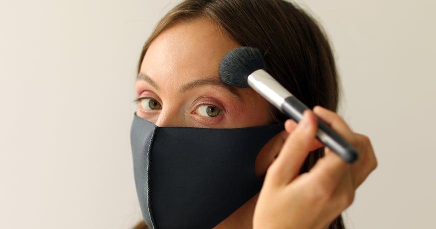 Maquillaje con mascarilla: el reto de las mujeres en pandemia