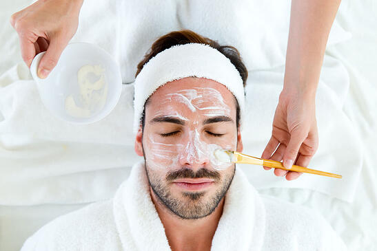 tratamiento de belleza para hombres
