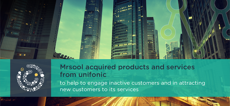 Mrsool acquired products and services from unifonic