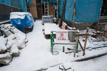 メッキ鋼管にも季節のお手入れ。冬の製品保管方法。