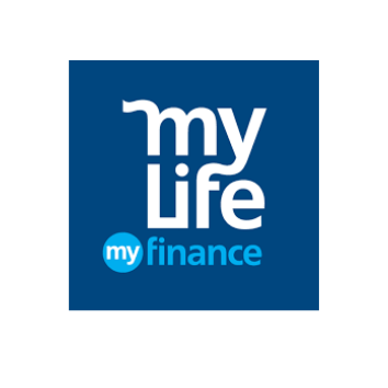 my life my finance logo web