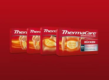 Produktbilder der ThermaCare® Wärmeauflagen