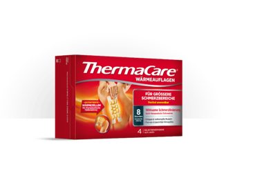 Produktbild der neuner ThermaCare® Wärmeauflagen für größere Schmerzbereiche