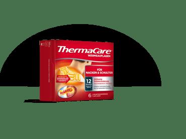 Produktbild der sechser ThermaCare® Wärmeauflagen für Nacken und Schulter