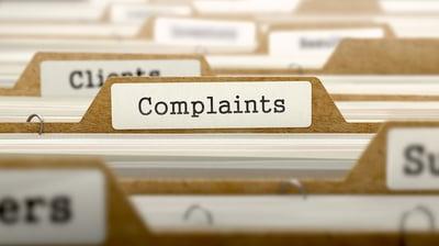 Complaints file folder