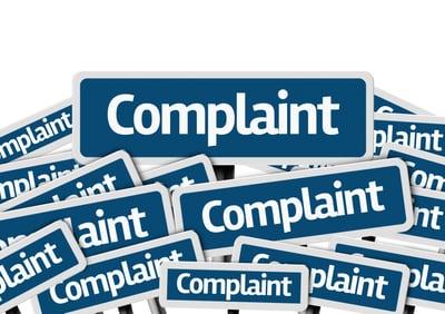 complaint signs