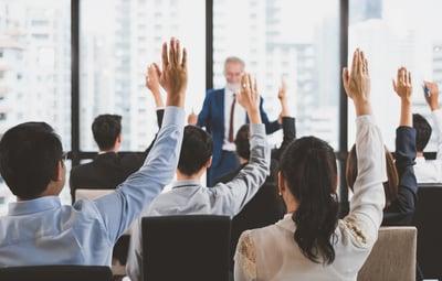 classroom questions FAQ hands raised
