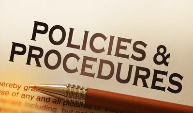 policy procedure pen paper