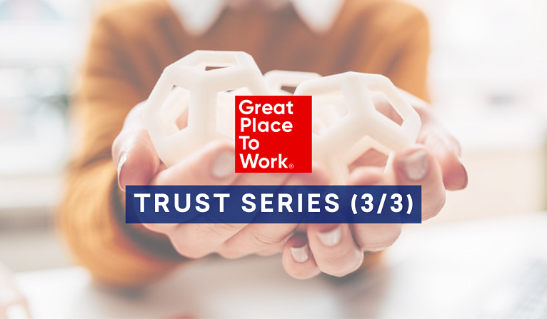 Trust Series - example of Great Place to Work Survey Questions
