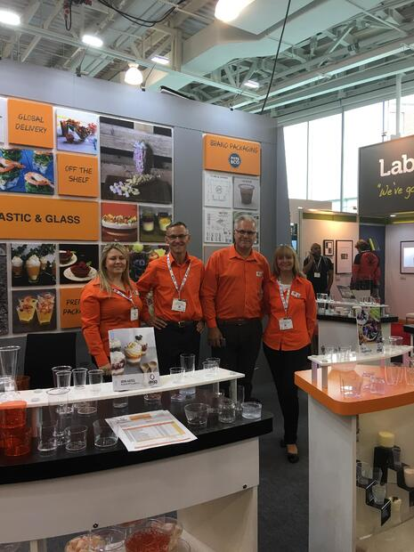 Aegg Team at Packaging Innovations in London 2018