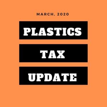 Plastics tax update