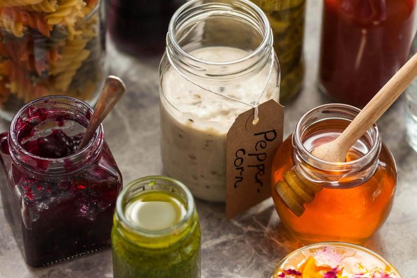 Aegg Glass Jars