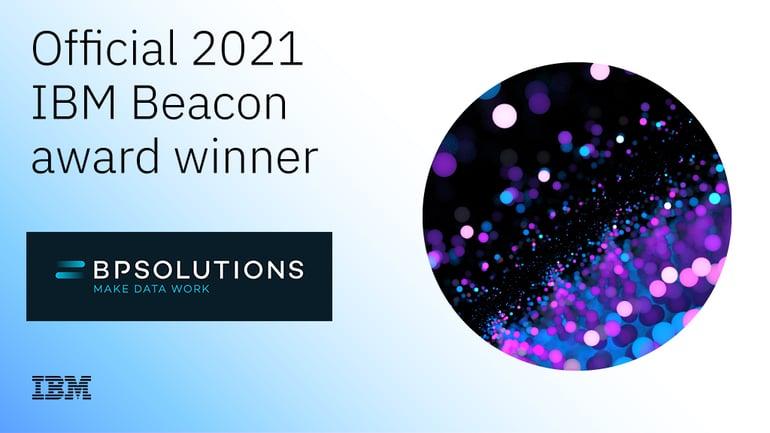 IBM Beacon Award voor BPSOLUTIONS