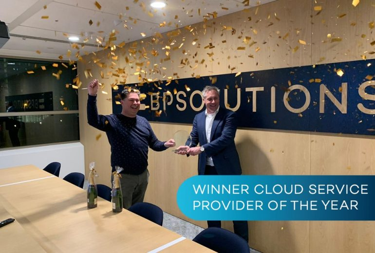 BPSOLUTIONS wint Cloud Service Provider of the Year Award