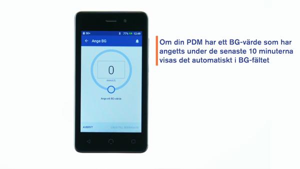 Omnipod DASH video tillföra en omedelbar bolus