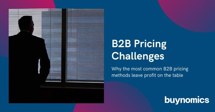 Free Webinar: The big B2B Pricing Challenges | buynomics