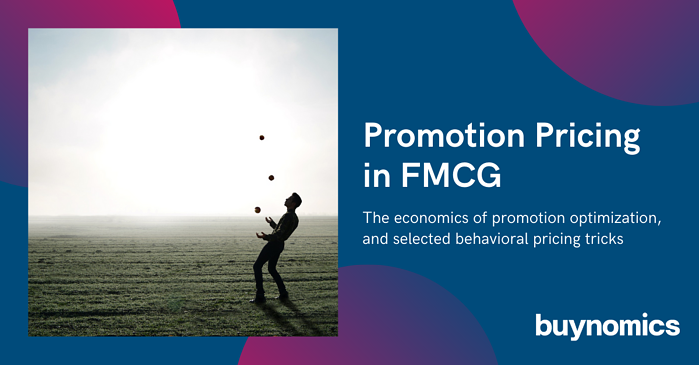 Promotion Pricing in FMCG by buynomics
